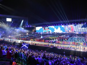 XX Commonwealth Games 2014 Opening Ceremony
