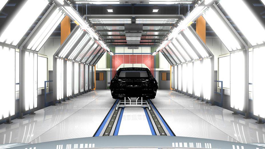 ISODESIGN MB World 3D film car factory