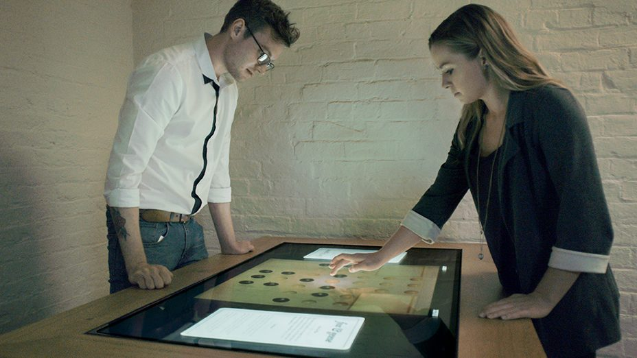 Lincoln Castle Interactive Tables